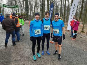 Wald- und Crosslauf in Schweinfurt, Februar 2020, Nicole, Stefan Tobias