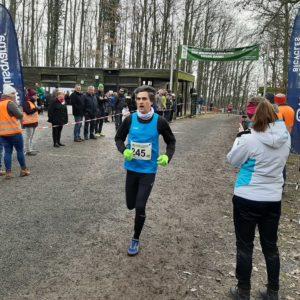 Wald- und Crosslauf in Schweinfurt, Februar 2020, Stefan letzte Runde