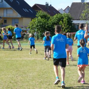 Zabelstein Runners Training Warmlaufen (Juli 2019)